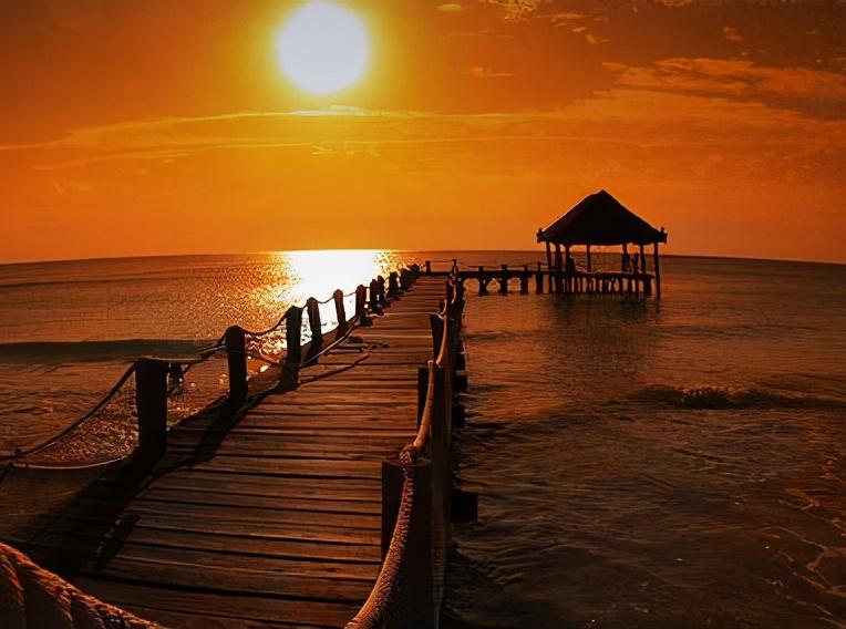 欣赏日落的句子文艺 夕阳很美的说说