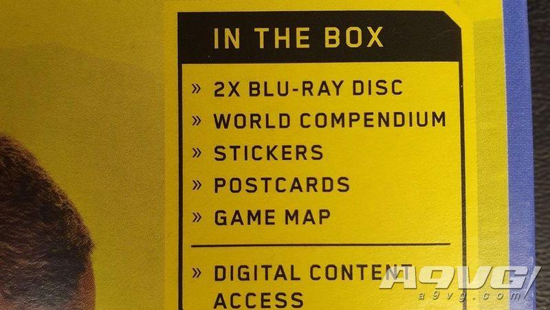 《赛博朋克2077》PS4版容量或超过70G 实体版两张光盘