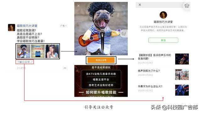 微信朋友圈广告推广形式及广告创意!