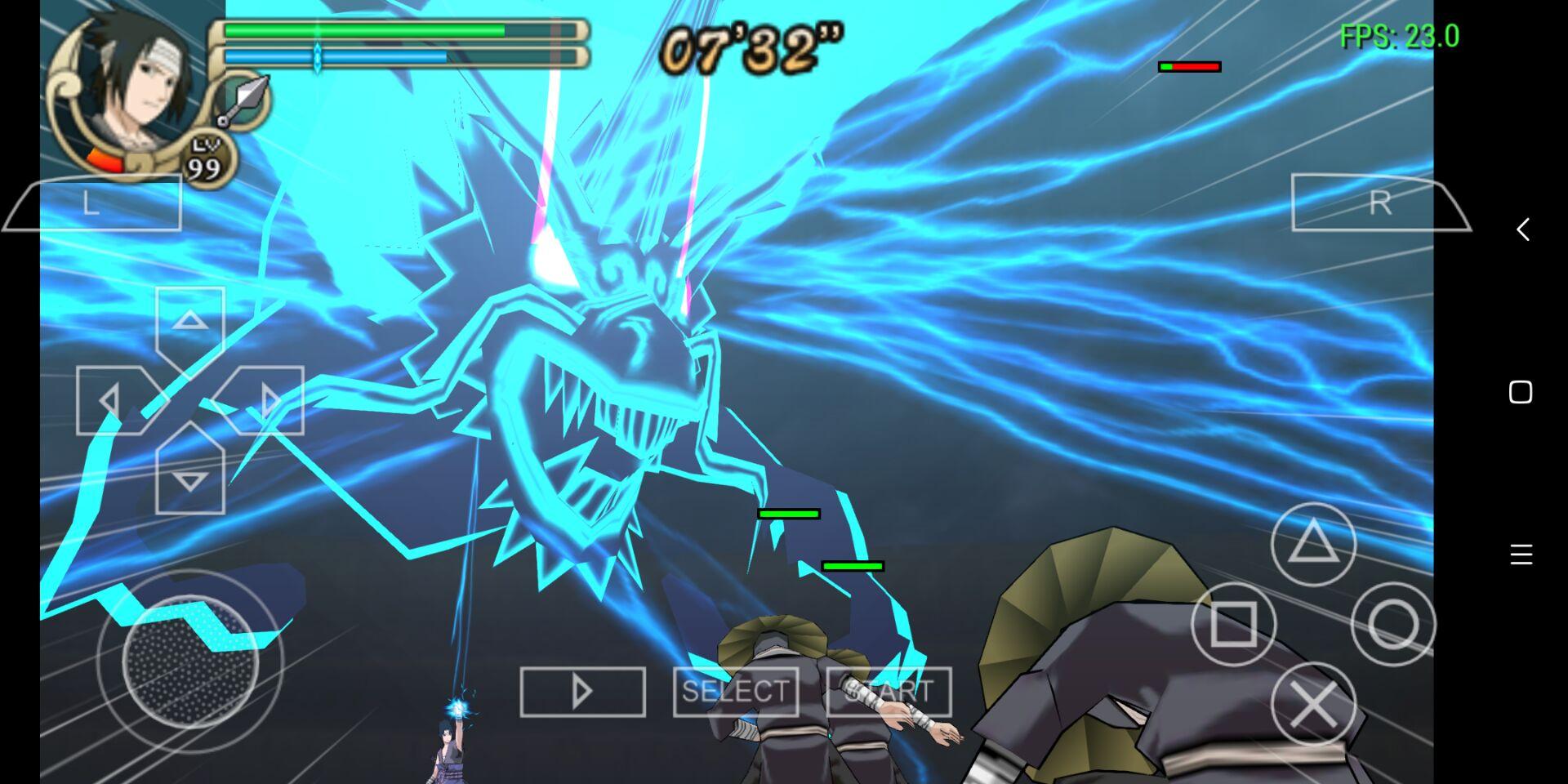 安卓PSP模拟器评测:火影忍者究极冲击