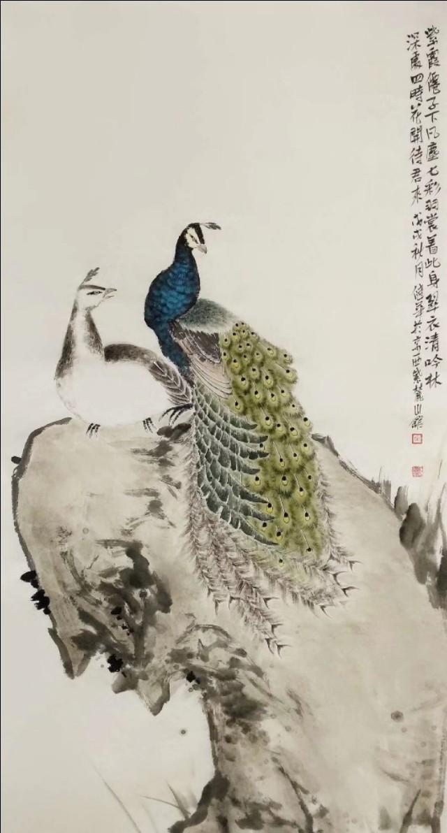孔雀,吉祥美好的象征