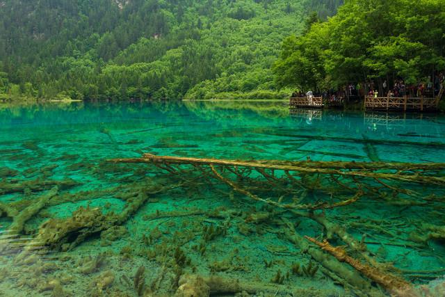 四川九寨沟,人间仙境,最美的风景