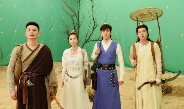徐璐新剧《墨客行》将播,五个各有背景的人前往蓬莱灭妖的故事