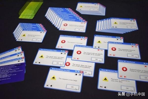 """逼疯强迫症?日本游戏开发商推出""""微软错误弹窗""""扑克"""