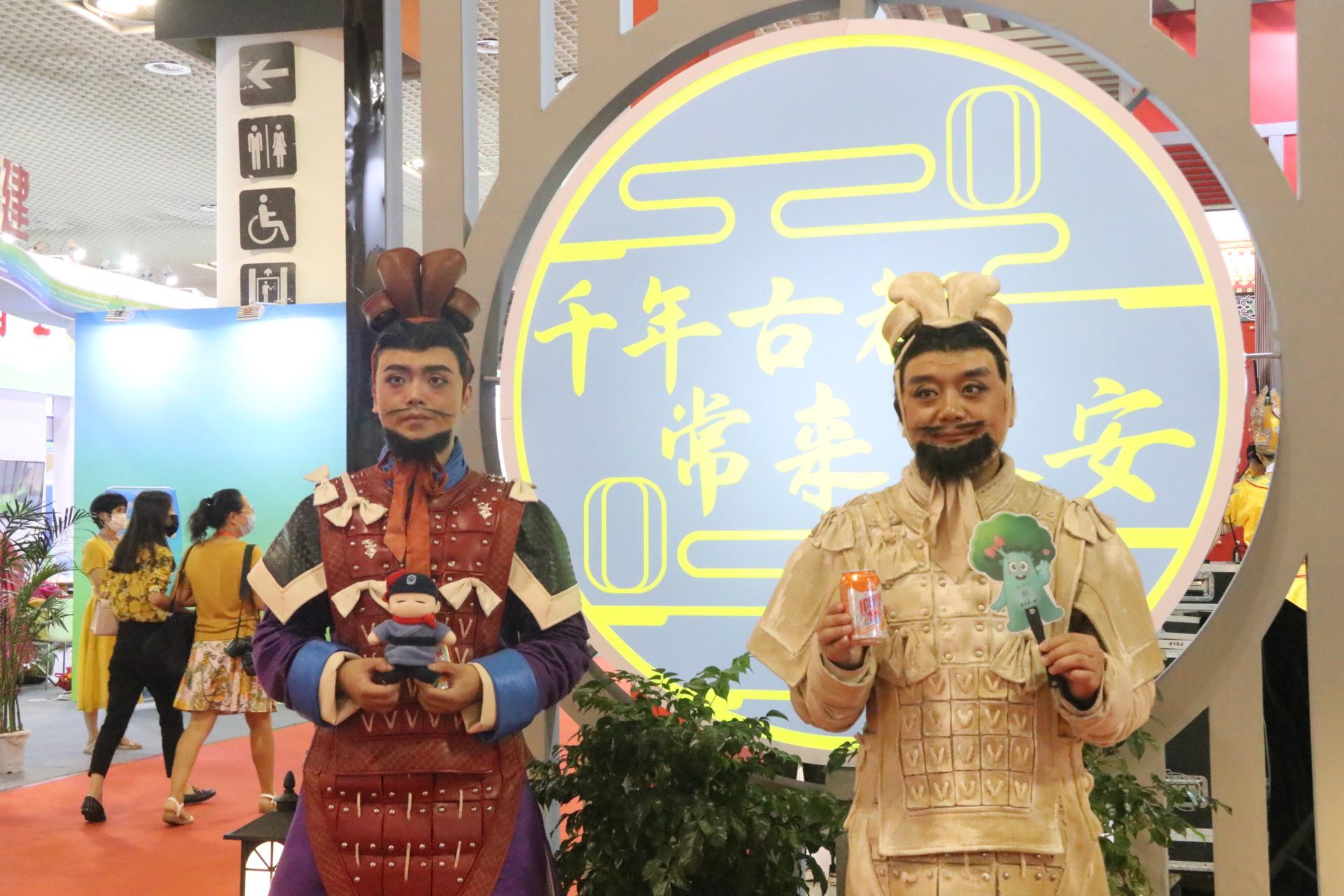 《我们是秦俑》亮相第十六届海峡旅游博览会