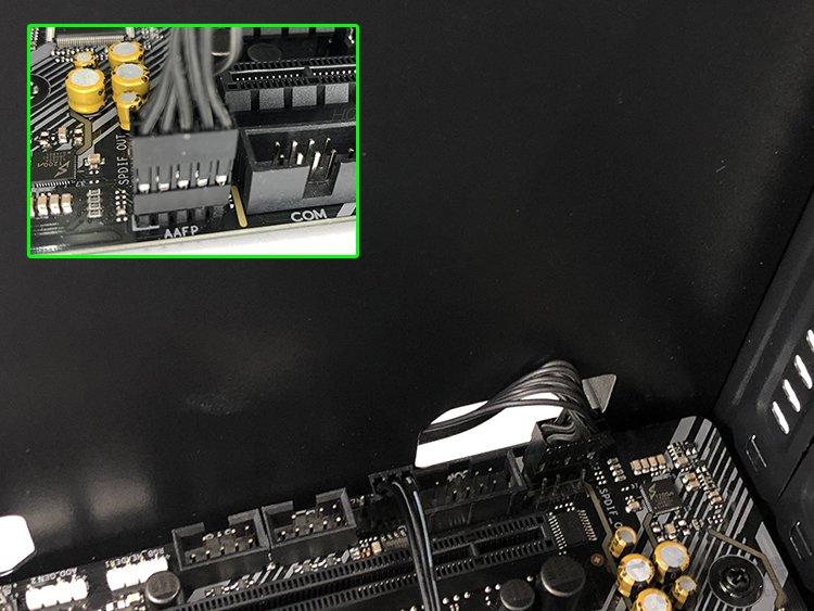 机箱上的跳线接在主板那些位置?台式电脑主板接线示意图解教程