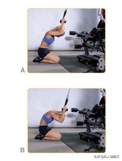 健身房器械使用方法,五个力量训练,简单易懂,让你不再盲目