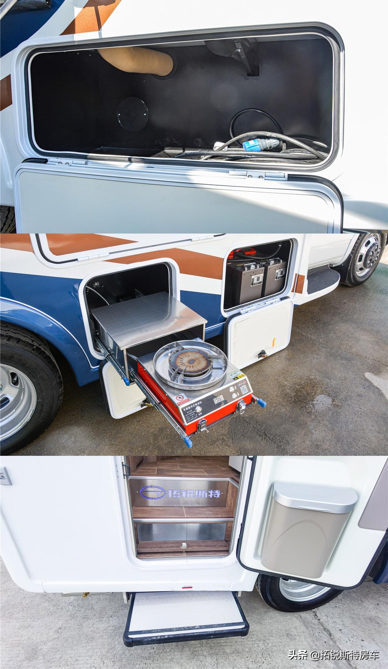 万众瞩目的海王星1号房车,单拓展后开门设计
