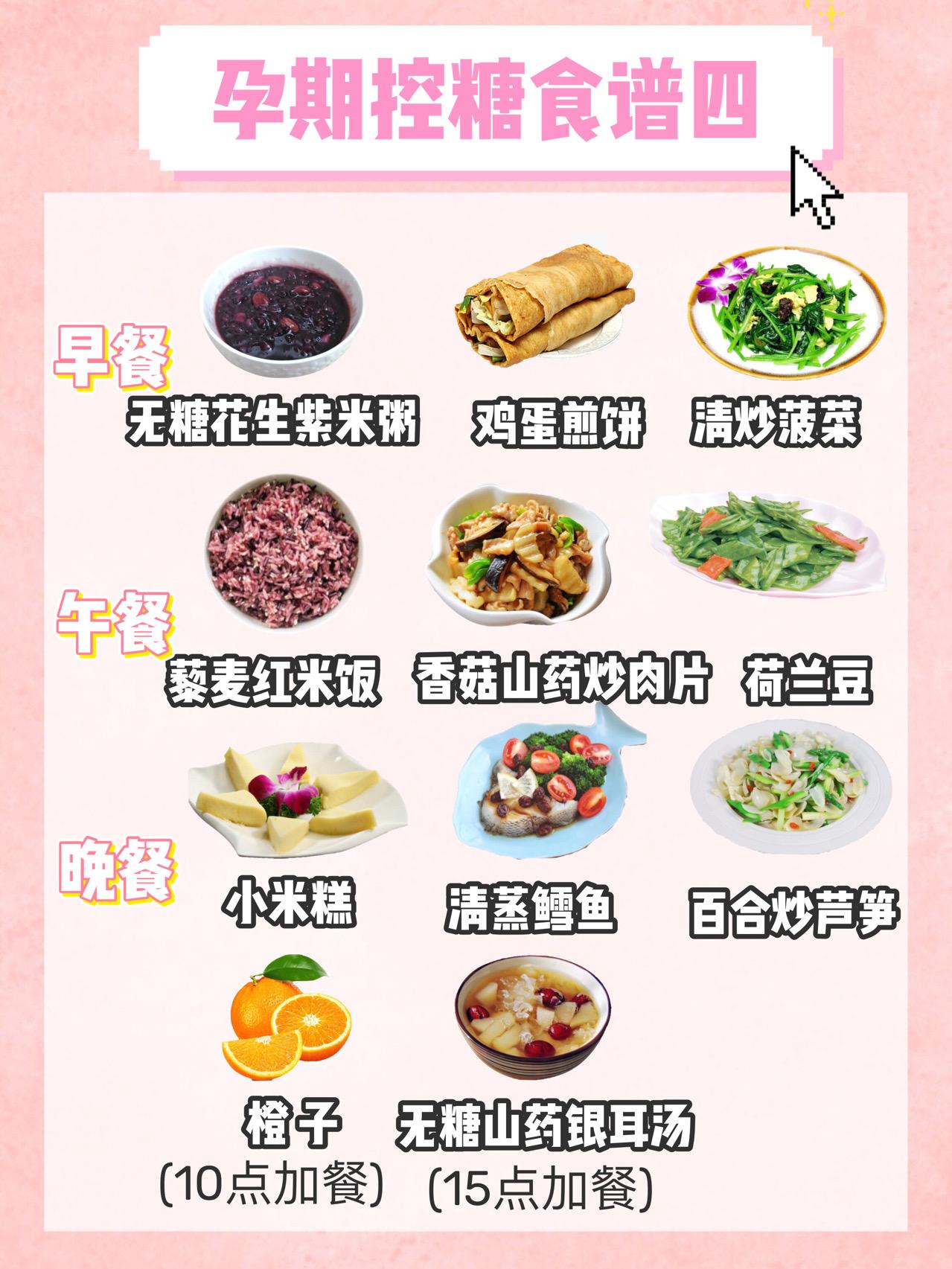 孕期控糖食谱,长胎不长肉,满满的干货 孕妇菜谱 第4张