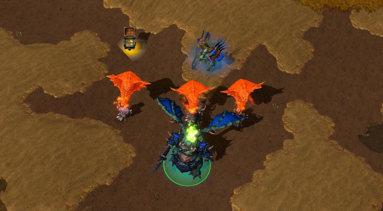 魔兽争霸3:曾经制霸一时,可玩性也不低的小Y加深渊领主玩法