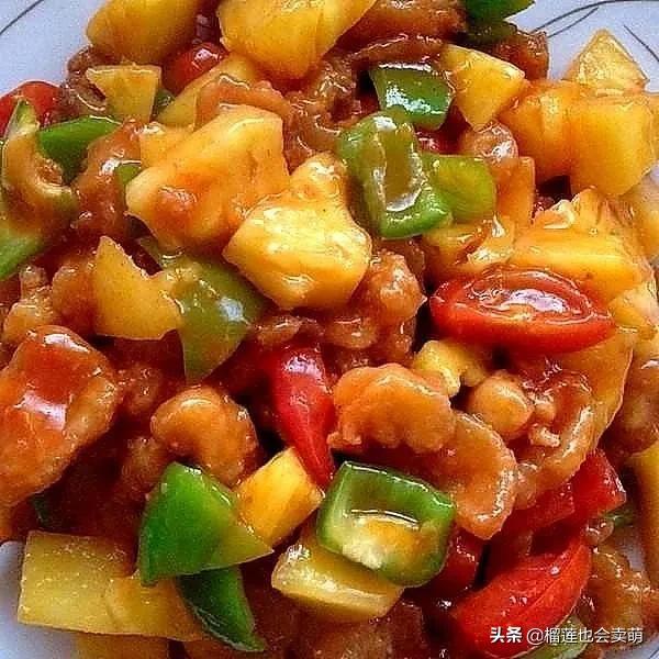 美食优选:秘制红焖羊肉,手撕鸡,火腿蒸豆腐,菠萝咕噜肉的做法 美食做法 第2张