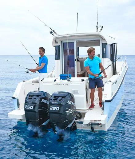 8.8米长的小艇,Quicksilver PH905钓鱼艇