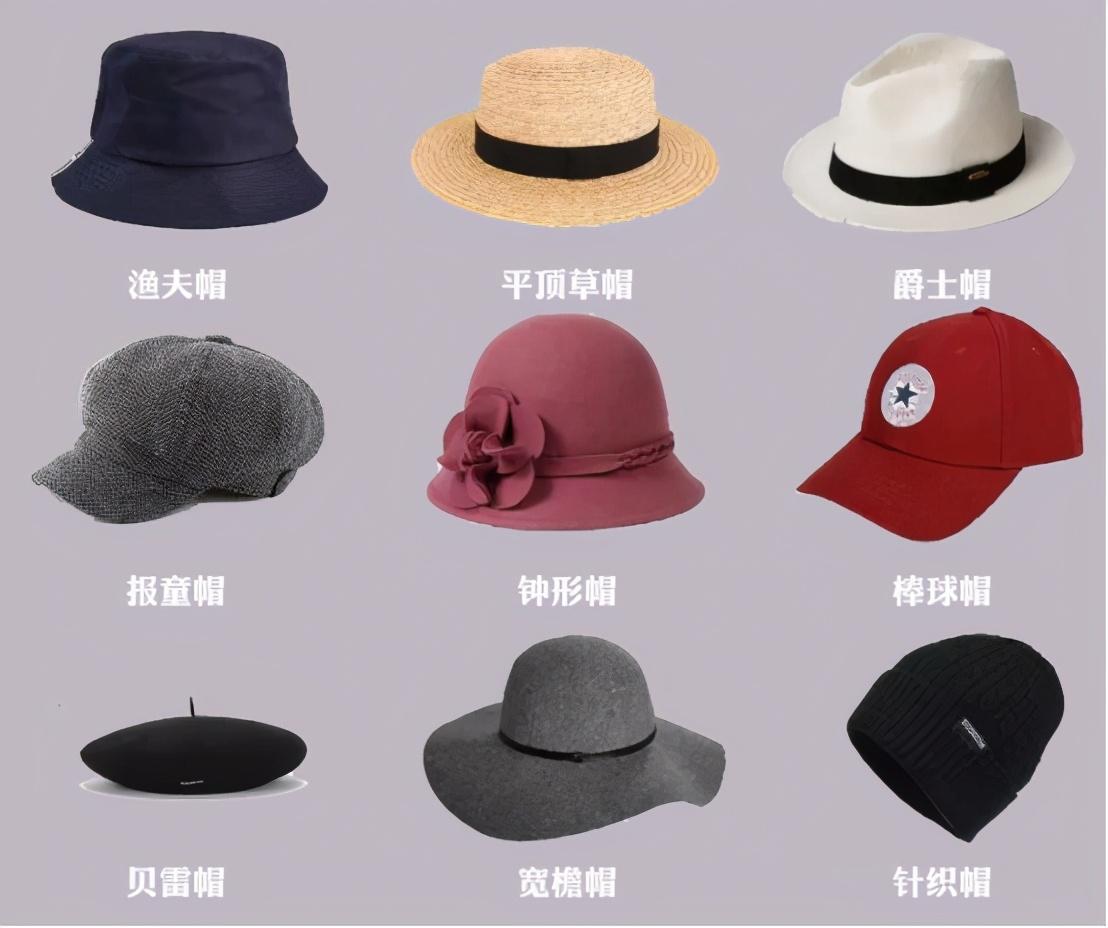 不同脸型怎么挑选帽子?3步教你选对帽子,修饰脸型不是问题