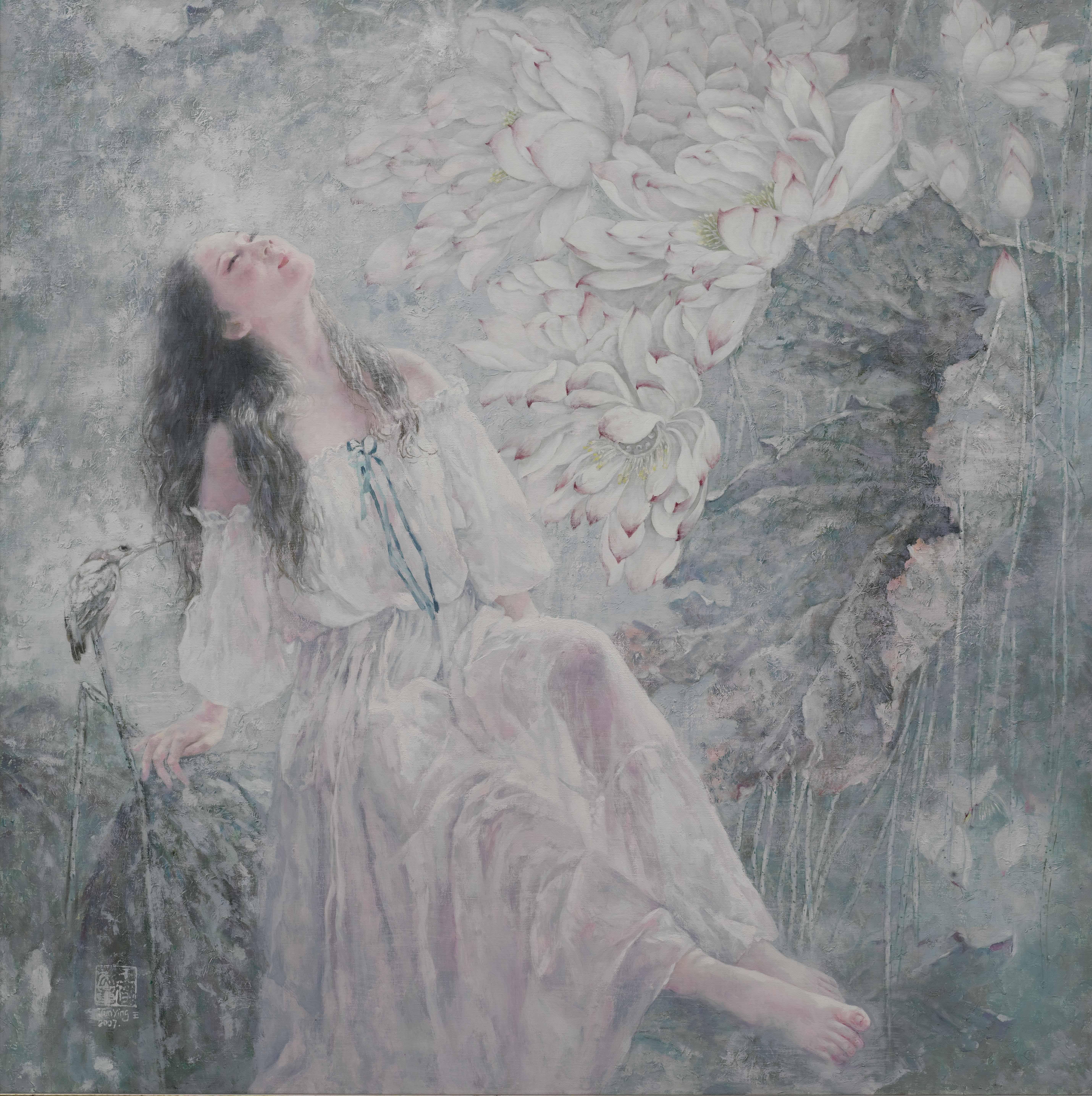 中国当代著名油画家「王俊英」与她的「艺术之路」