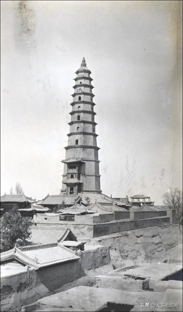 1910年 甘肃涼州(今武威)城市真实影像及建筑大观