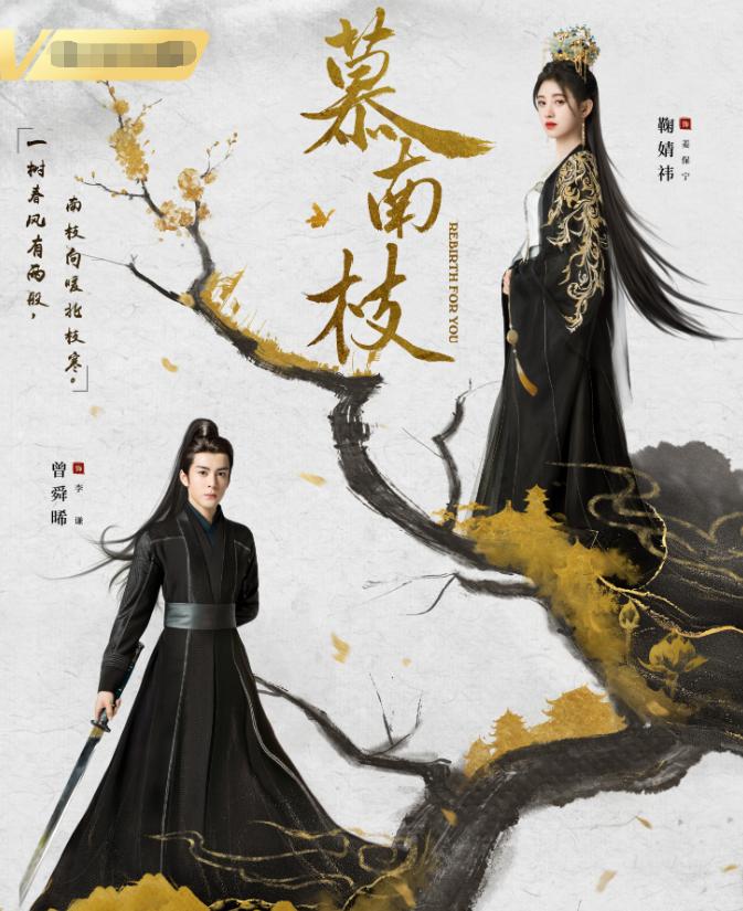 鞠婧祎新剧《慕南枝》官宣剧照,一改少女风格,新的剧照贵气逼人