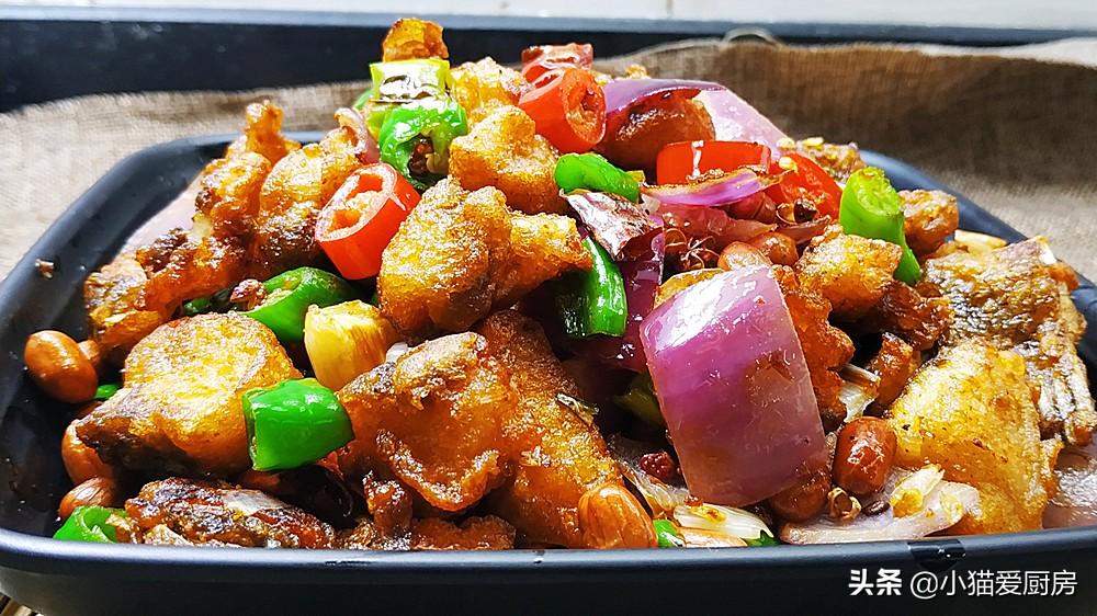 香辣鱼块的家常做法 方法简单味道好 做出来比饭店的都要好吃