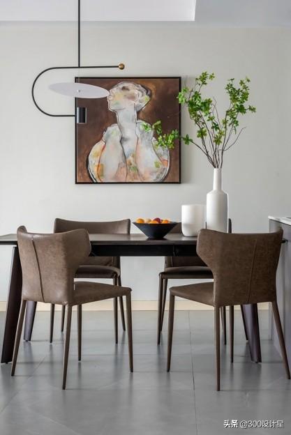 曾磊作品:174㎡大平层,简约利落的设计美学,让人眼前一亮