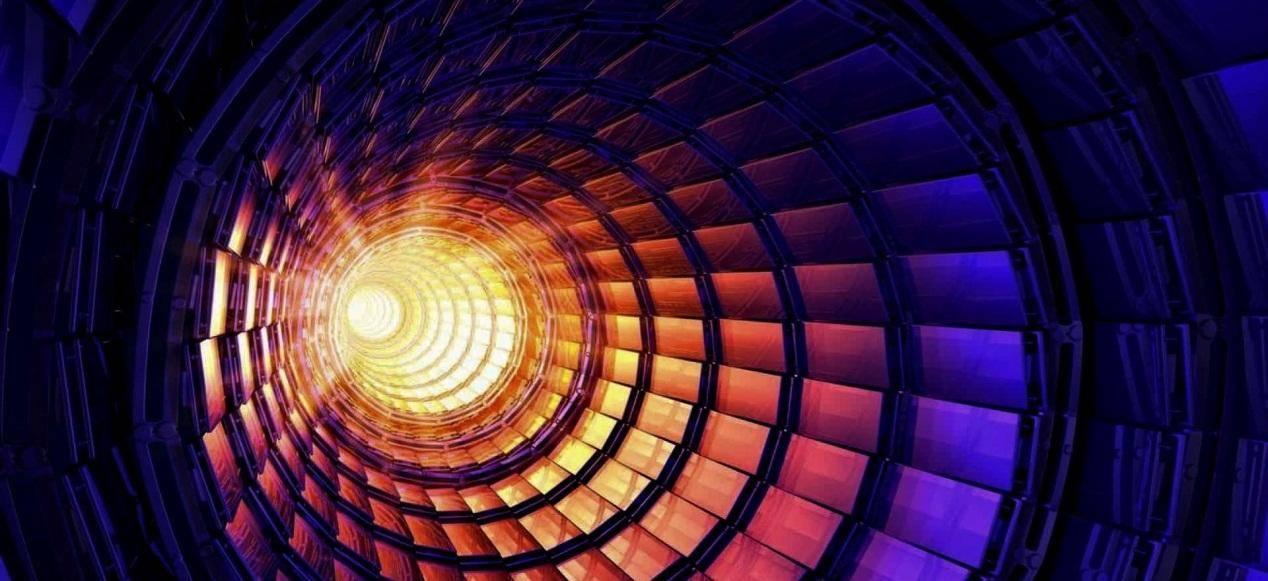 是否有时间之类的东西,或者仅仅是运动粒子的轨迹?