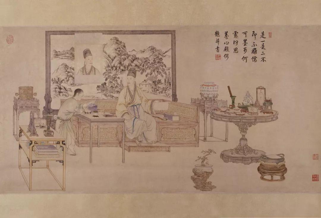 清宫众多画家中,哪些能够称之为顶级画家?