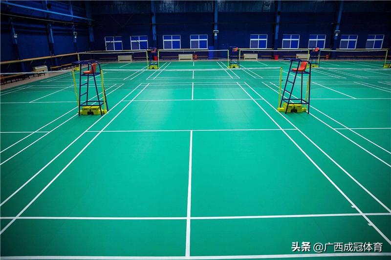 羽毛球场馆为什么要铺PVC塑胶地板?