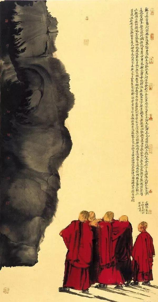 清净世界|寇月朋:我是在画禅境,画就是禅(100幅)