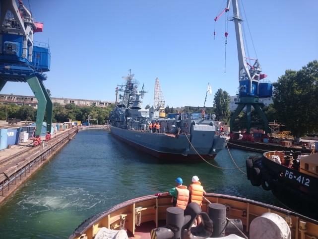 世界最老驱逐舰退役,印度人出钱为俄造船,反潜舰终成博物馆
