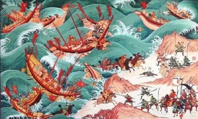 两场神风天降,吹走了元朝的日本行省?忽必烈为何惨败于东征之战