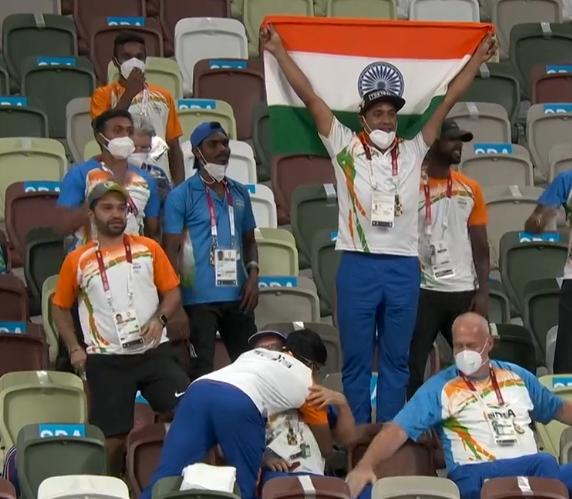 奥运闭幕前一天印度收获首金(全印度各国同庆莫迪老仙开心极了)  第2张