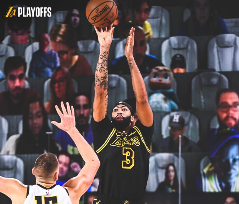 湖人2-0金塊 | 一眉哥壓哨絕殺湖人再勝金塊,一眉哥31+9,Jokic砍30分(影)-黑特籃球-NBA新聞影音圖片分享社區