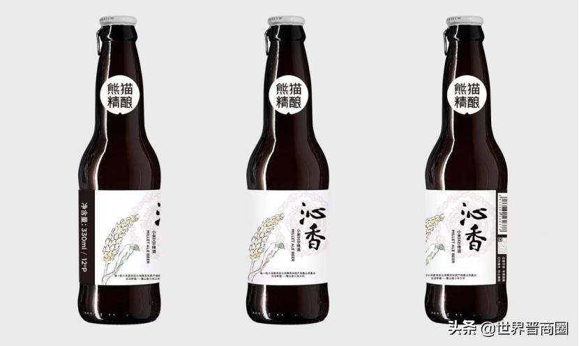 晋商大佬韩长安邀熊猫精酿,沁香小米啤酒走红第七次山西旅发大会