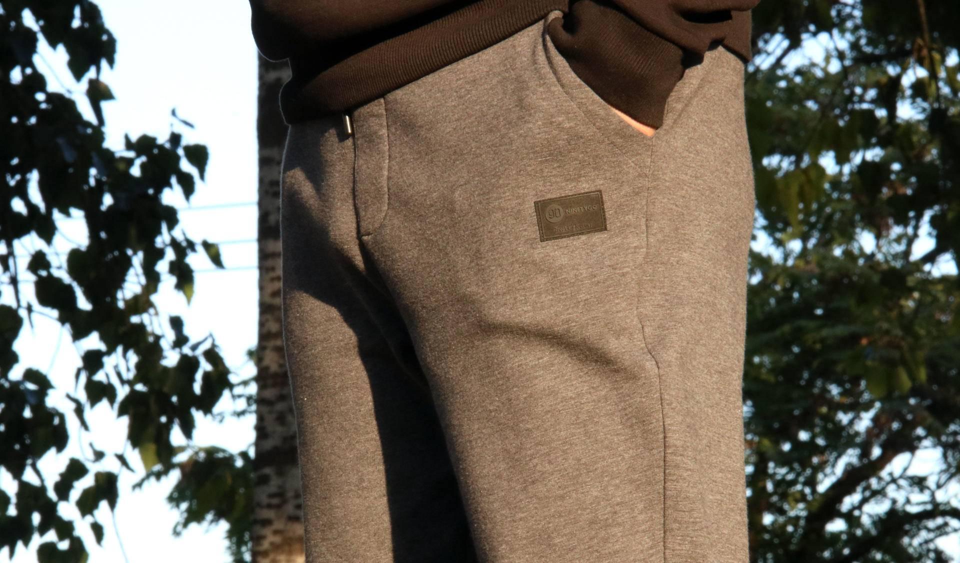 双层复合面料,妈妈们放心的温暖,90分男子加绒保暖卫裤