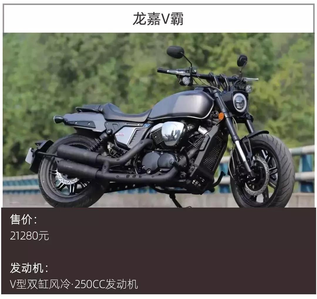 """哈雷摩托卖太贵,这些搭载V型双缸发动机的""""小哈雷""""不到3万元"""