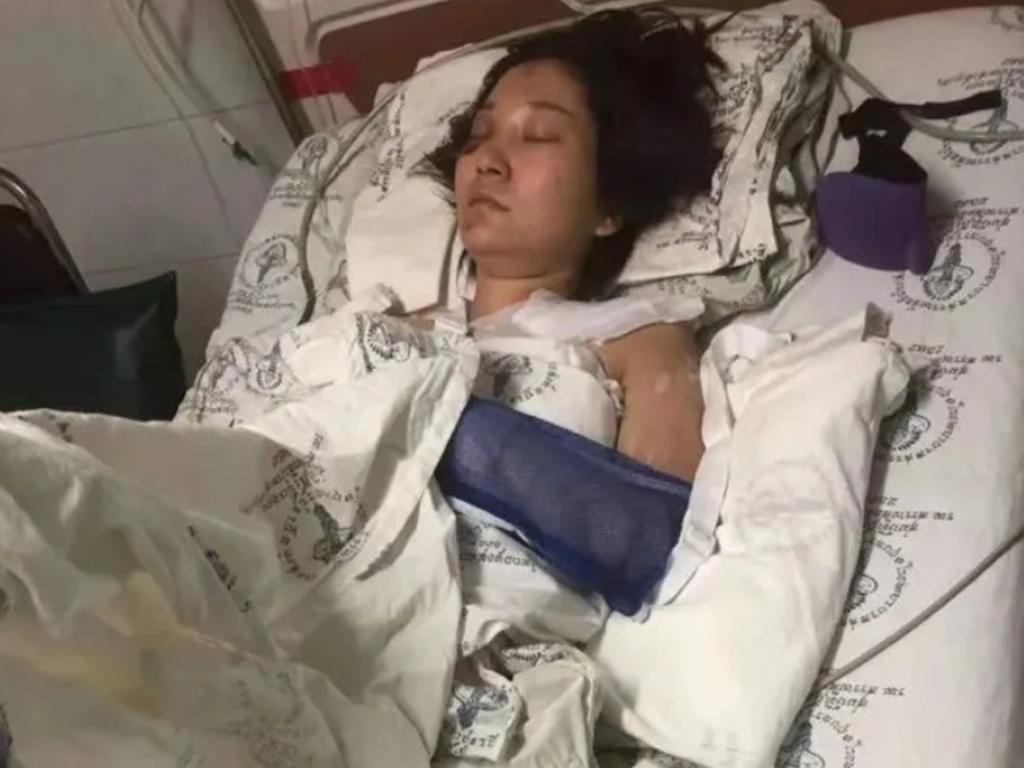 17处骨折缝200针,被丈夫从泰国悬崖推下的中国女人:我就是警示牌