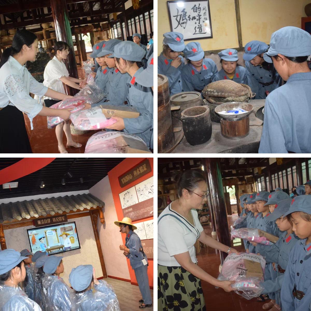 蓬溪妇联组织学校留守女童开展夏令营活动