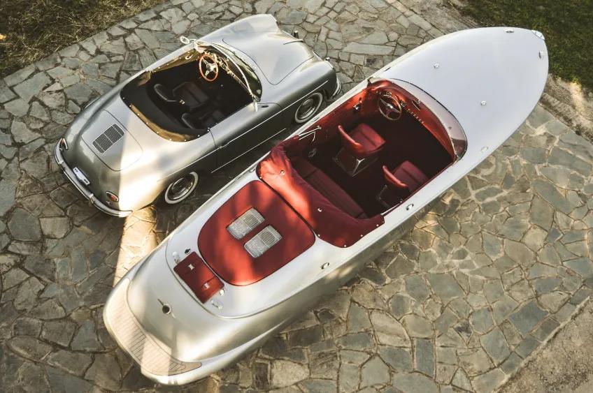 富豪的海上座驾,游艇界的至臻收藏品,灵感来自保时捷古董敞篷车