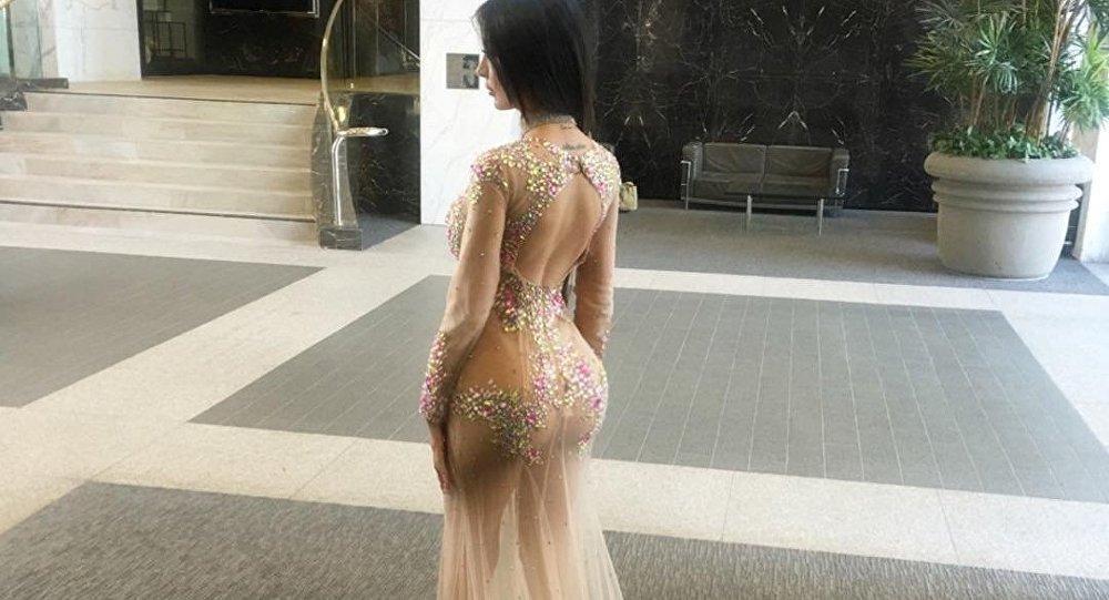 """丝臀:巴西模特接受""""蜘蛛网臀部提升术"""",看起来像Kim K"""