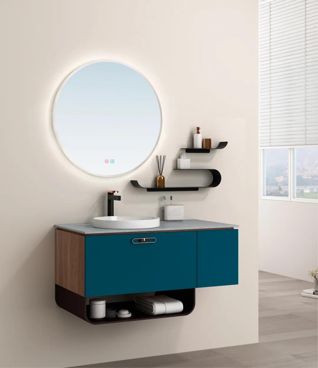 测评|金鲨银鲨月夜浴室柜:看得见的美,摸得着的质感