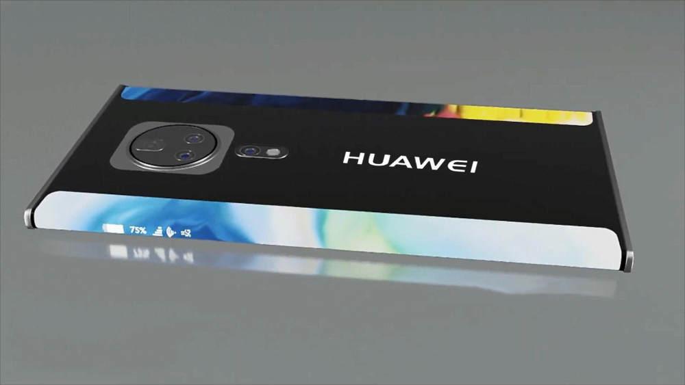 华为新机渲染图曝光,感觉比刚发布的可折叠手机还要高端