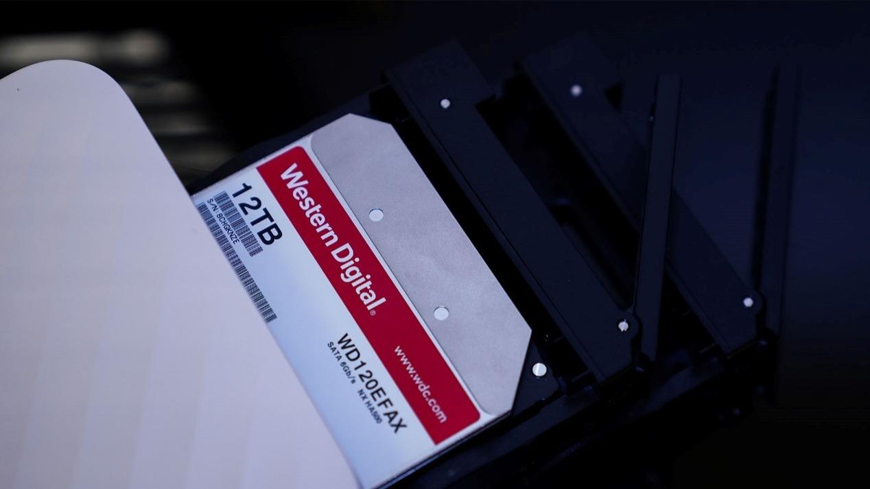 西部数据红盘+联想云存储,搭建个人NAS云盘