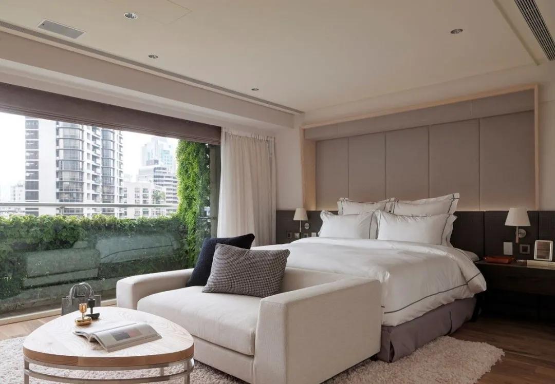 宽敞231㎡,植物墙、艺廊、把酒店套间搬回家,真高级