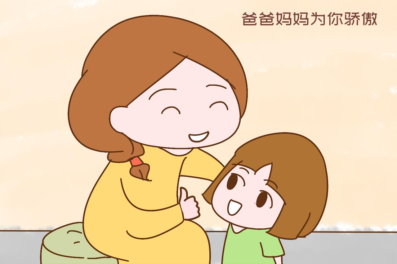 """女儿问""""我跟弟弟谁棒?""""妈妈高情商回答,让女儿心甘情愿爱弟弟"""