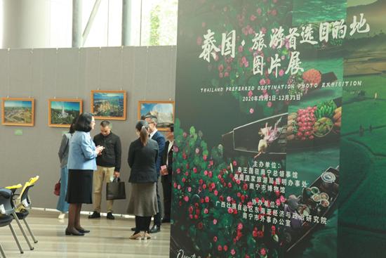以图为媒,促中泰文旅交流——泰国·旅游首选目的地图片展在南宁市博物馆开幕