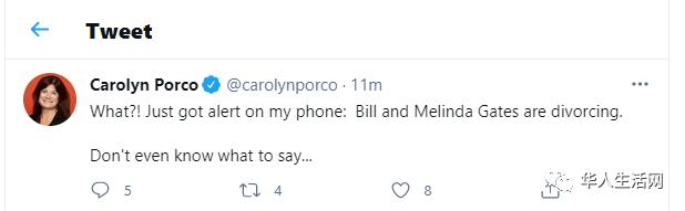 突发!比尔盖茨宣布离婚