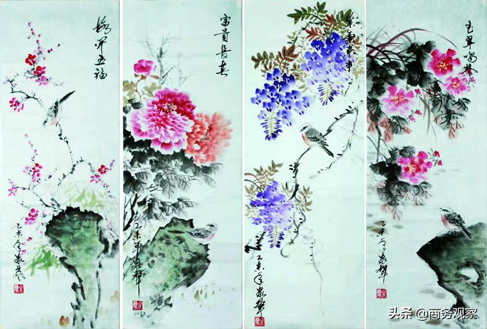 《时代复兴 沧桑百年》全国优秀艺术名家作品展——贺泉