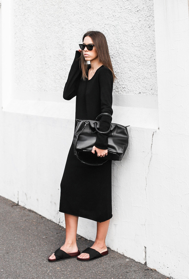 """早秋建议大家多穿""""懒人裙"""",优雅显高级,不论胖瘦都能穿"""