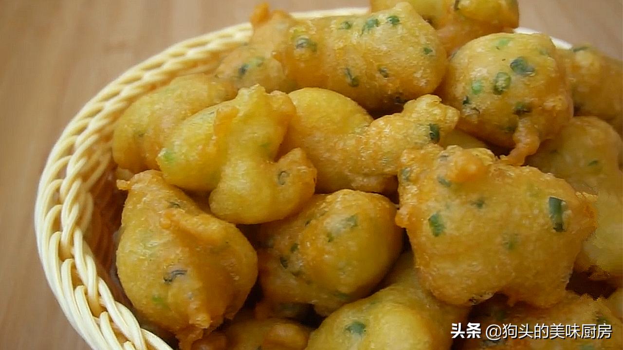 麵粉好吃的做法,香酥鬆軟,蔥香濃郁,做法簡單,比油條好吃