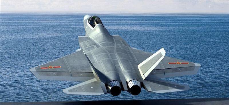 沈飛新型戰機研製要攻克隱身性能才能上艦