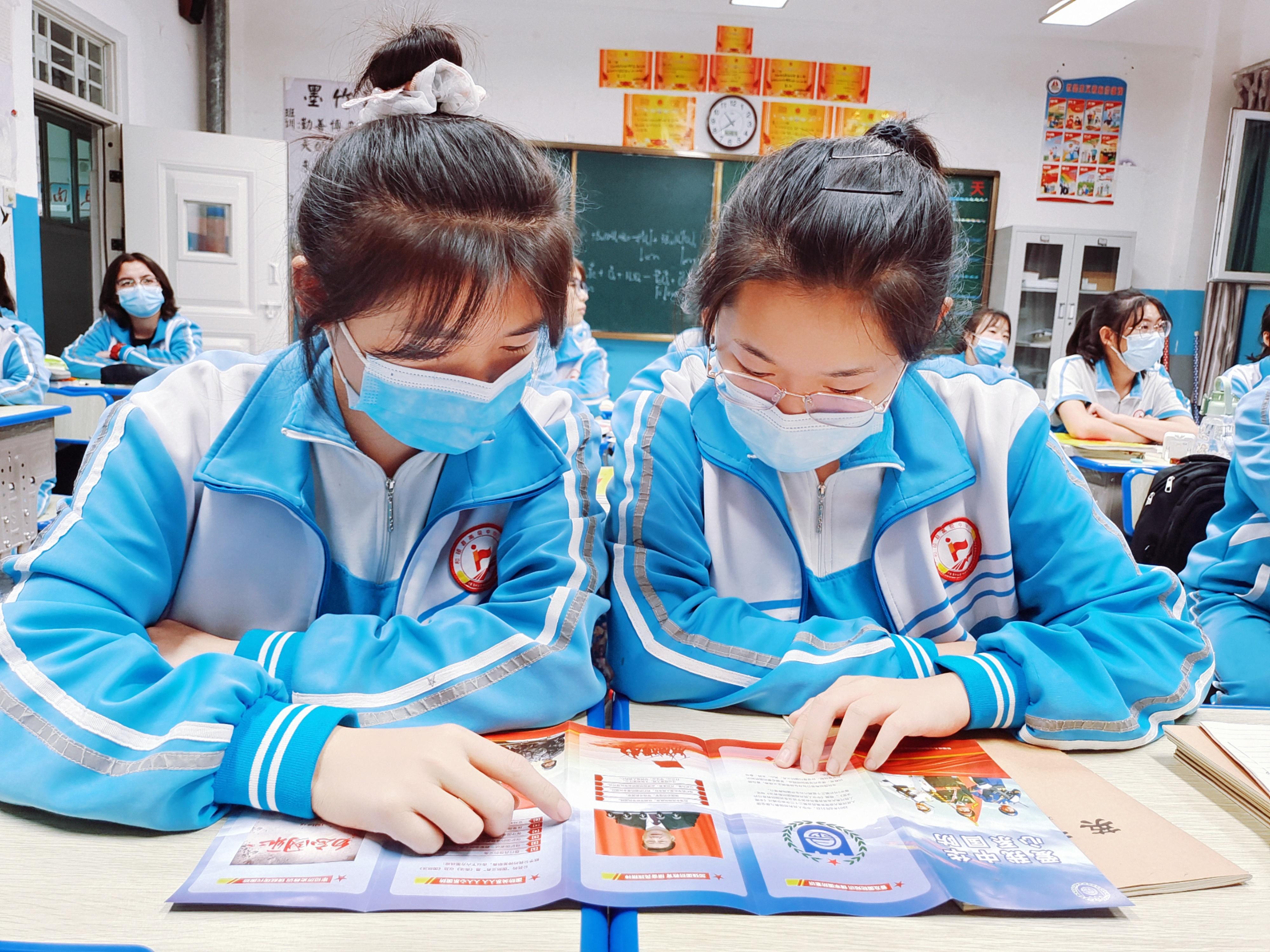 新疆和硕:国防知识进校园 增强青少年国防意识