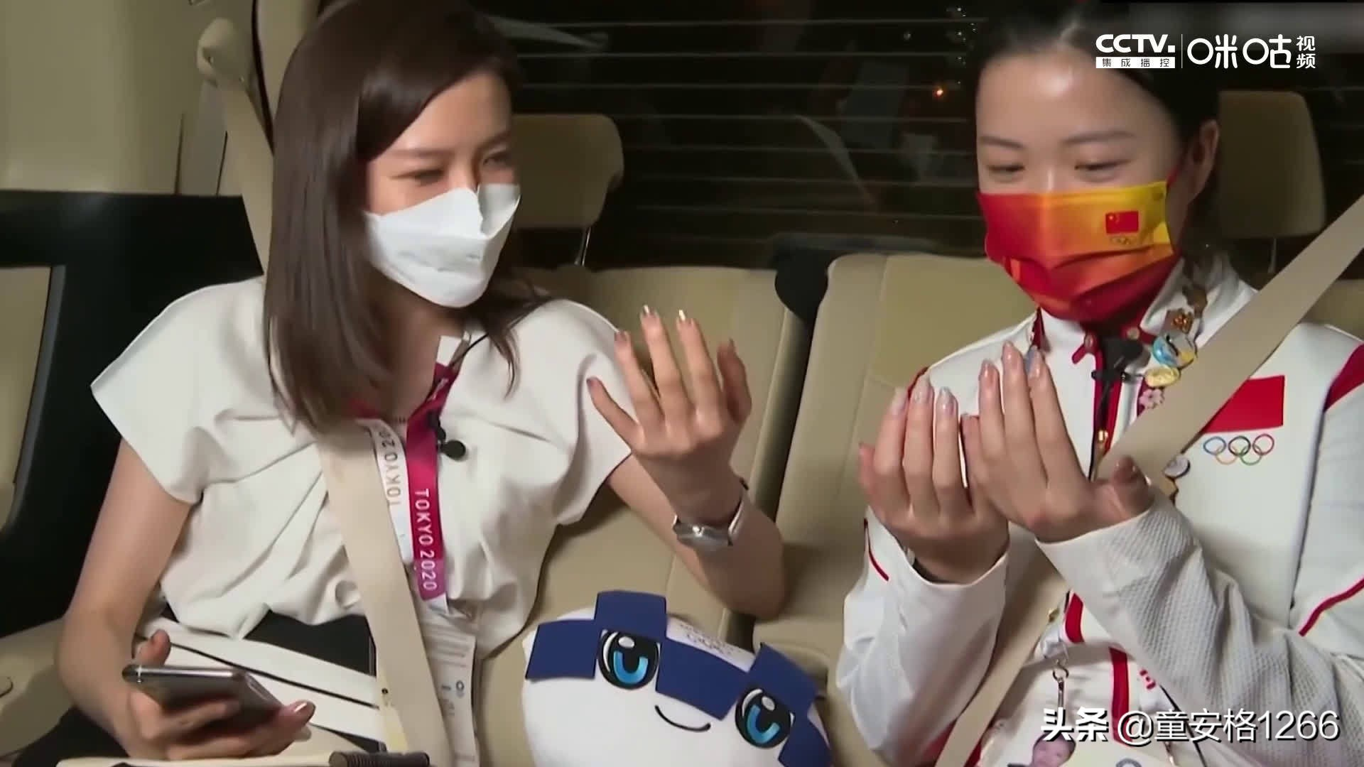 杨倩回应珍珠美甲,确认是小公主了!奥运冠军杨倩展示自己的美甲